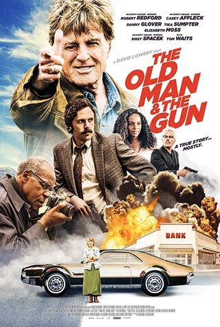 The Old Man & The Gun (2018) Main Poster