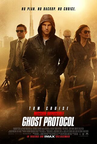 Mission: Impossible - Ghost Protocol (2011) Main Poster