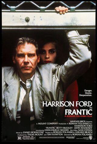 Frantic (1988) Main Poster
