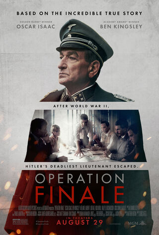 Operation Finale (2018) Main Poster