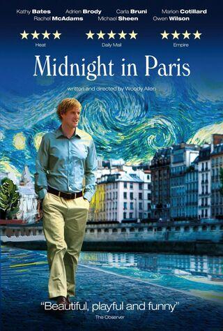 Midnight In Paris (2011) Main Poster
