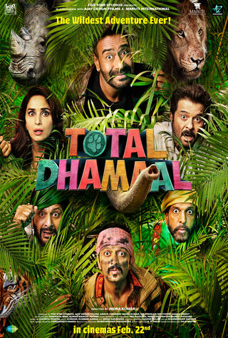 Total Dhamaal (2019) Main Poster