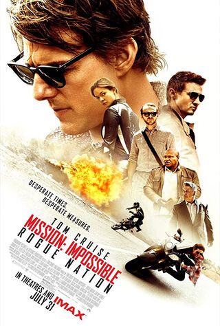 Mission: Impossible - Rogue Nation (2015) Main Poster
