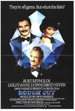 Rough Cut (1980) Main Poster