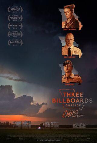 Three Billboards Outside Ebbing, Missouri (2017) Main Poster