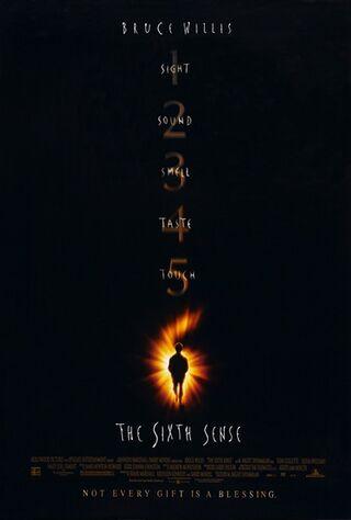 The Sixth Sense (1999) Main Poster