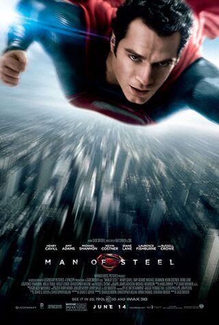 Man of Steel (2013) Main Poster