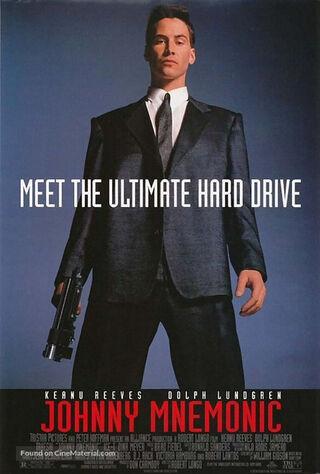 Johnny Mnemonic (1995) Main Poster