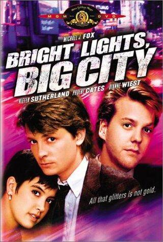 Bright Lights, Big City (1988) Main Poster