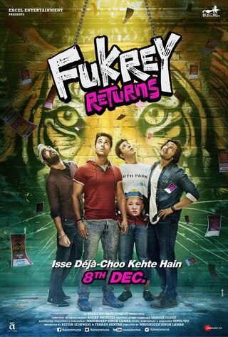 Fukrey Returns (2017) Main Poster