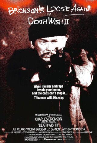 Death Wish II (1982) Main Poster