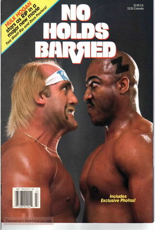 No Holds Barred (1989) Main Poster