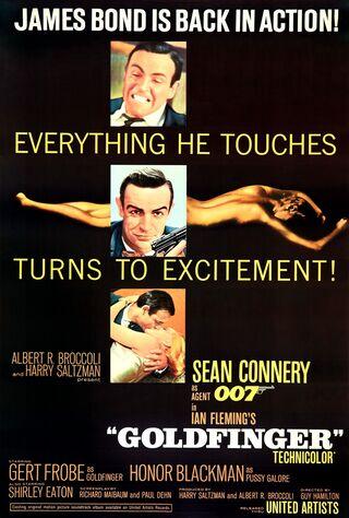 Goldfinger (1965) Main Poster