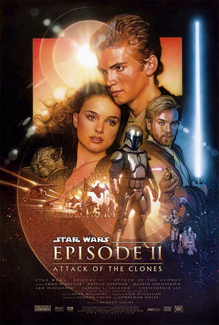 Star Wars Episode II: Attack of the Clones (2002) Main Poster