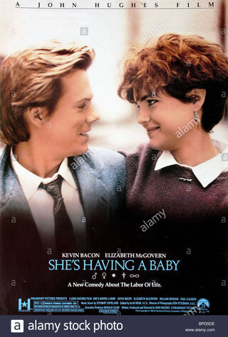 She's Having A Baby (1988) Main Poster