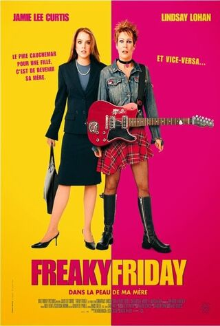 Freaky Friday (2003) Main Poster