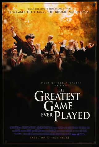 The Greatest Game Ever Played (2005) Main Poster