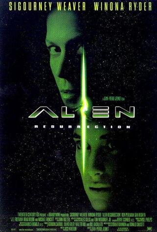 Alien: Resurrection (1997) Main Poster