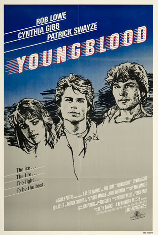 Youngblood (1986) Main Poster