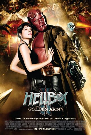 Hellboy II: The Golden Army (2008) Main Poster