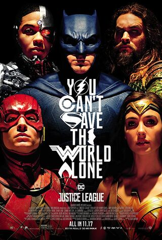 Justice League (2017) Main Poster