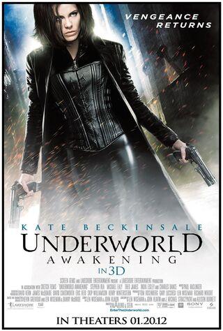 Underworld Awakening (2012) Main Poster