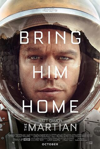 The Martian (2015) Main Poster