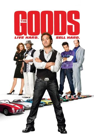 The Goods: Live Hard, Sell Hard (2009) Main Poster
