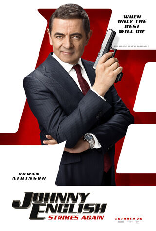 Johnny English Strikes Again (2018) Main Poster