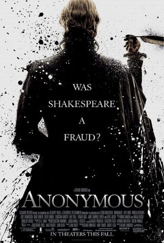 Anonymous (2011) Main Poster