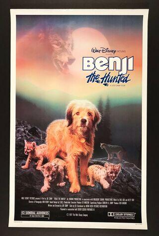 Benji The Hunted (1987) Main Poster