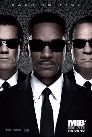 Men in Black 3 (2012) Main Poster
