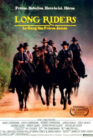 The Long Riders (1980) Main Poster