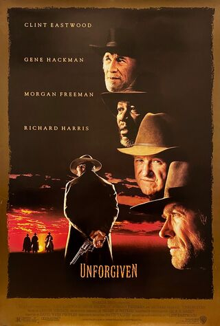 Unforgiven (1992) Main Poster