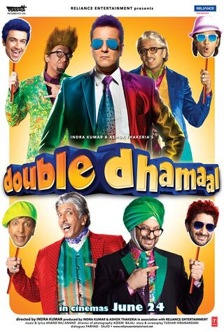 Double Dhamaal (2011) Main Poster