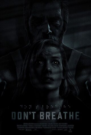 Don't Breathe (2016) Main Poster