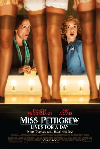 Miss Pettigrew Lives For A Day (2008) Main Poster
