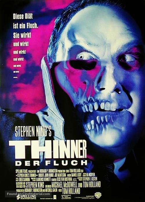 Thinner (1996) Main Poster