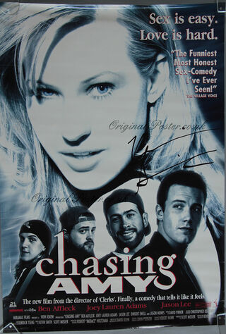 Chasing Amy (1997) Main Poster
