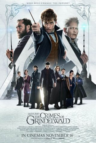 Fantastic Beasts: The Crimes Of Grindelwald (2018) Main Poster