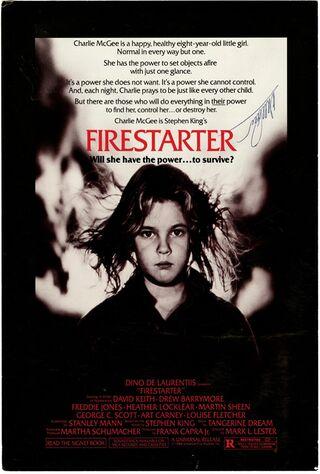 Firestarter (1984) Main Poster