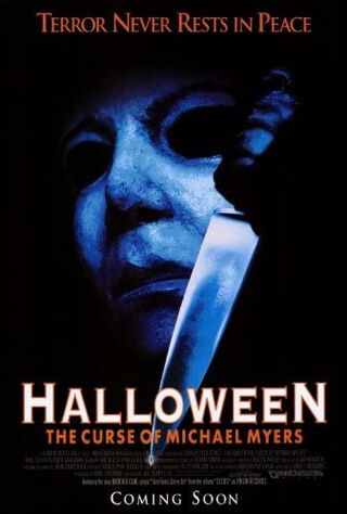 Halloween: The Curse Of Michael Myers (1995) Main Poster