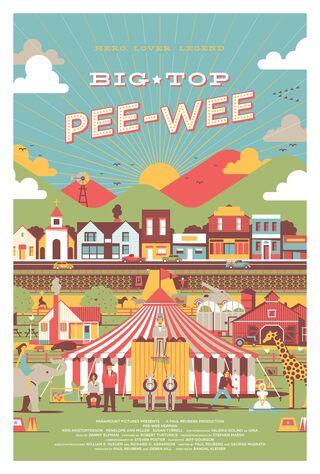 Big Top Pee-wee (1988) Main Poster