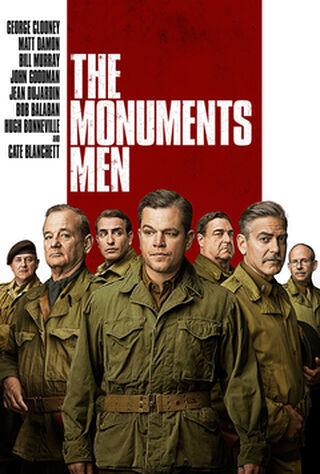 The Monuments Men (2014) Main Poster