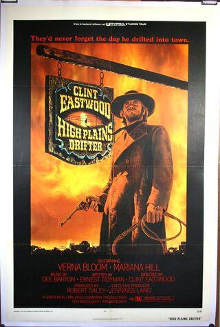 High Plains Drifter (1973) Main Poster