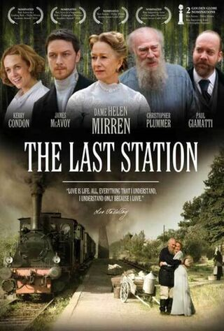 The Last Station (2010) Main Poster