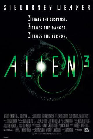Alien³ (1992) Main Poster