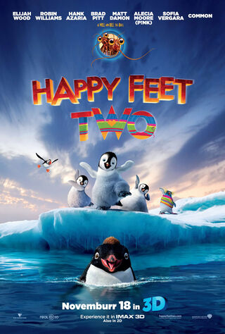 Happy Feet Two (2011) Main Poster