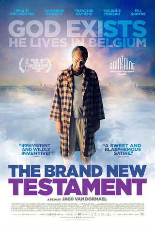 The Brand New Testament (2015) Main Poster