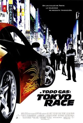The Fast And The Furious: Tokyo Drift (2006) Main Poster